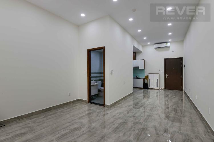 Phòng Khách Cho thuê căn hộ office-tel The Sun Avenue tầng trệt, block 3, đầy đủ nội thất.