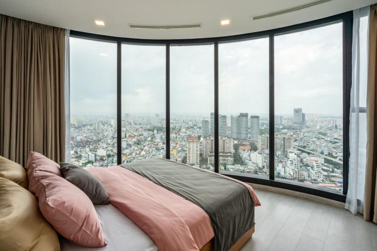 Phòng Ngủ 1 Cho thuê căn hộ Vinhomes Golden River 3PN 2WC, đầy đủ nội thất, view thành phố