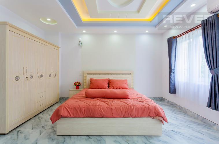 Phòng ngủ 1 Nhà phố khu compound Mega Khang Điền Quận 9 nội thất đầy đủ