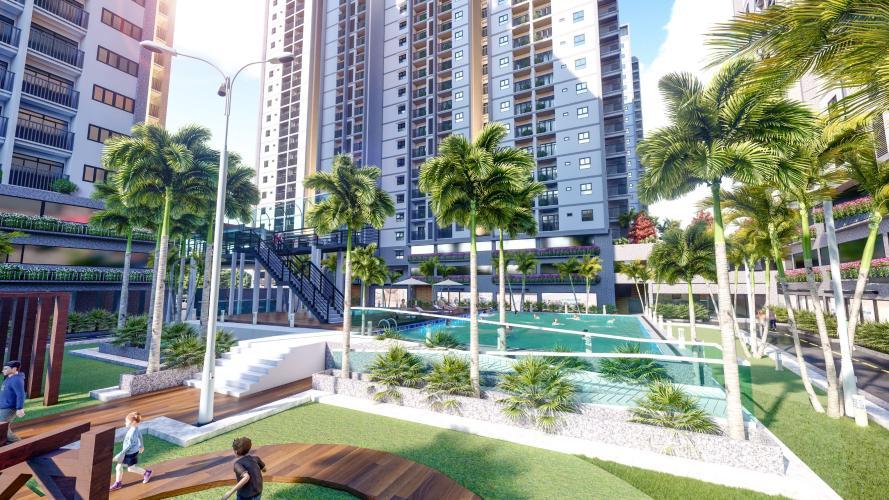 Khuôn viên Eco Xuân Căn hộ Eco Xuân tầng 12B cửa hướng Tây Bắc, thiết kế hiện đại