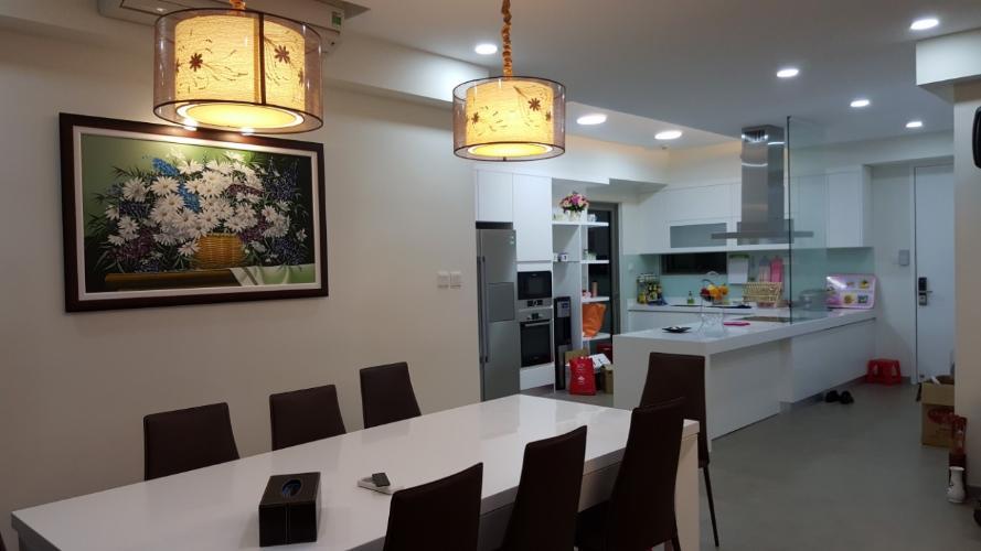 Phòng bếp căn hộ Riviera Point Căn hộ Riviera Point tầng cao 4 phòng ngủ, view thành phố sầm uất.