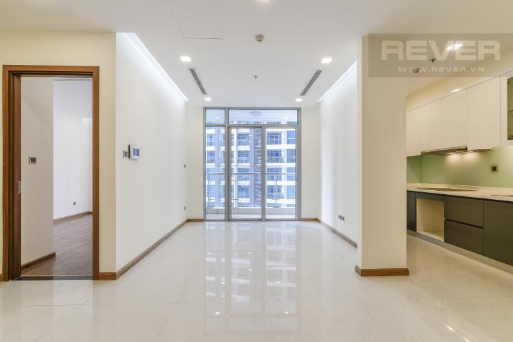 Phòng Khách Căn hộ Vinhomes Central Park 2 phòng ngủ tầng trung P2 view sông