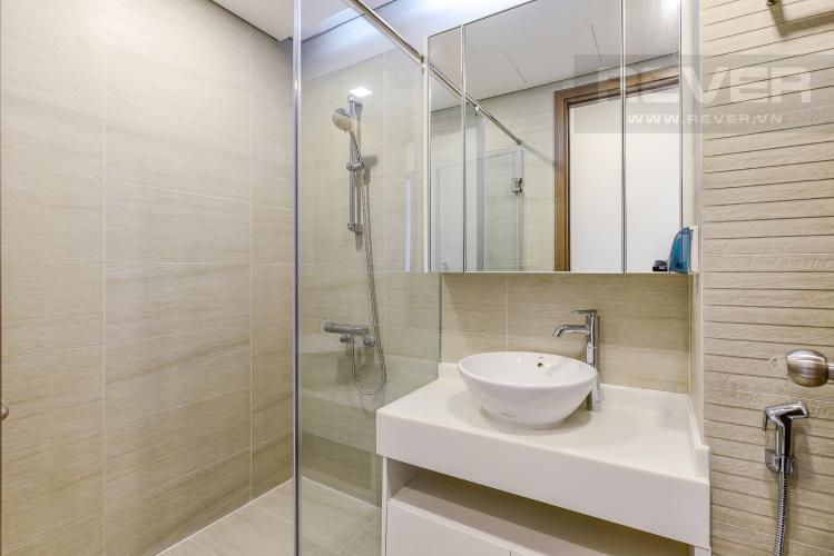 Phòng tắm 2 Căn hộ Vinhomes Central Park 2 phòng ngủ tầng cao P7 đầy đủ tiện nghi