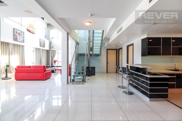 Bán hoặc cho thuê penthouse Petroland Tower 3PN, diện tích 350m2, nội thất cơ bản, view thành phố