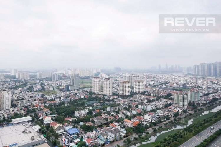 View Căn hộ Masteri Thảo Điền tầng cao T5, 2 phòng ngủ, đầy đủ nội thất
