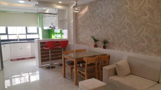 Bán căn hộ The Gold View 2 phòng ngủ, diện tích 67m2, đầy đủ nội thất, hướng ban công Đông Nam
