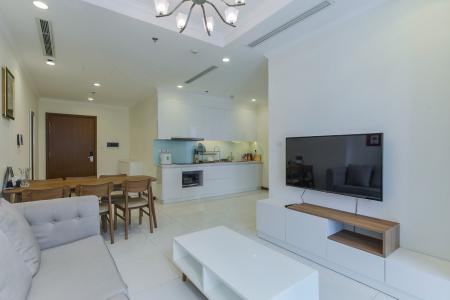Cho thuê căn hộ Vinhomes Central Park 2PN tầng trung, diện tích 71m2, đầy đủ nội thất