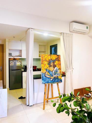 Không gian căn hộ Masteri Thảo Điền Căn hộ Masteri Thảo Điền view sông, đầy đủ nội thất.