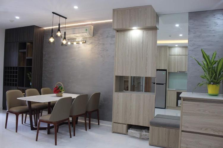 Phòng ăn căn hộ SUNRISE CITYVIEW Căn hộ Sunrise CityView diện tích 105m2, đầy đủ nội thất, view Phú Mỹ Hưng