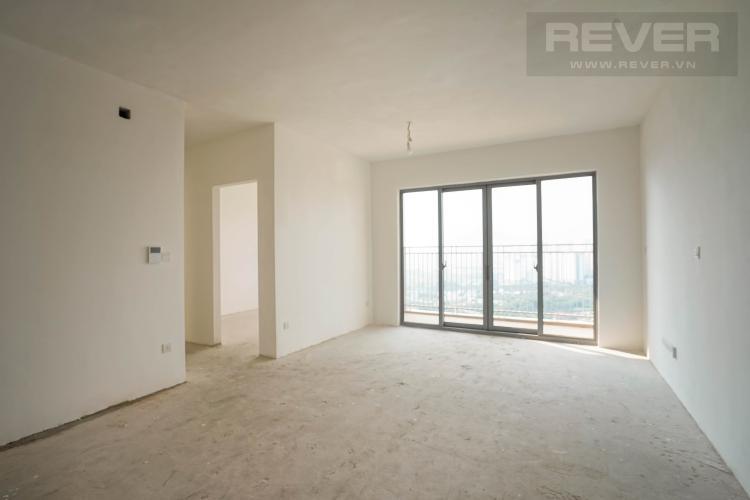 Bán căn hộ Palm Heights 2 phòng ngủ, diện tích 76m2, bàn giao thô, view nội khu