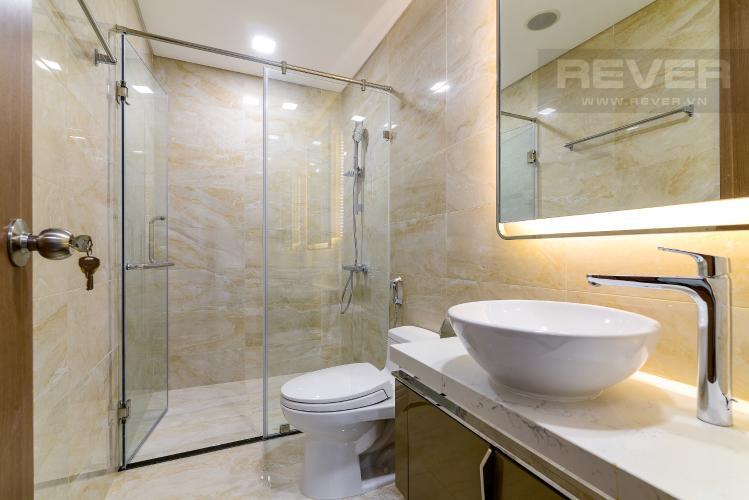 Phòng Tắm Bán căn hộ Vinhomes Central Park 1PN, tháp Landmark 81, nội thất cơ bản, view Xa lộ Hà Nội