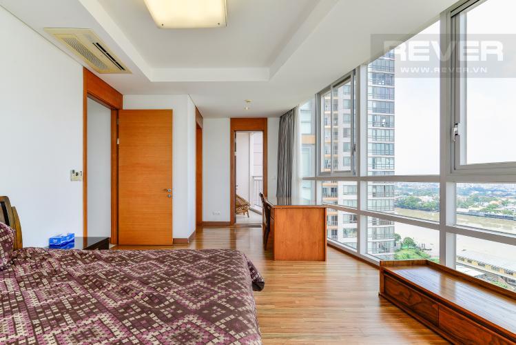 Phòng Ngủ 1 Cho thuê căn hộ Xi Riverview Palace tầng cao, 3PN, đầy đủ nội thất, view sông