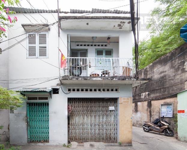 Mặt tiền Nhà phố 2 phòng ngủ đường Bến Vân Đồn Quận 4 diện tích 40m2