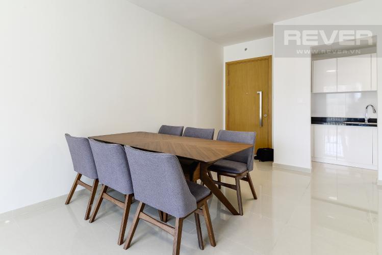 Phòng Ăn Bán hoặc cho thuê căn hộ Vista Verde 89.1m2 2PN 2WC, đầy đủ nội thất, view nội khu