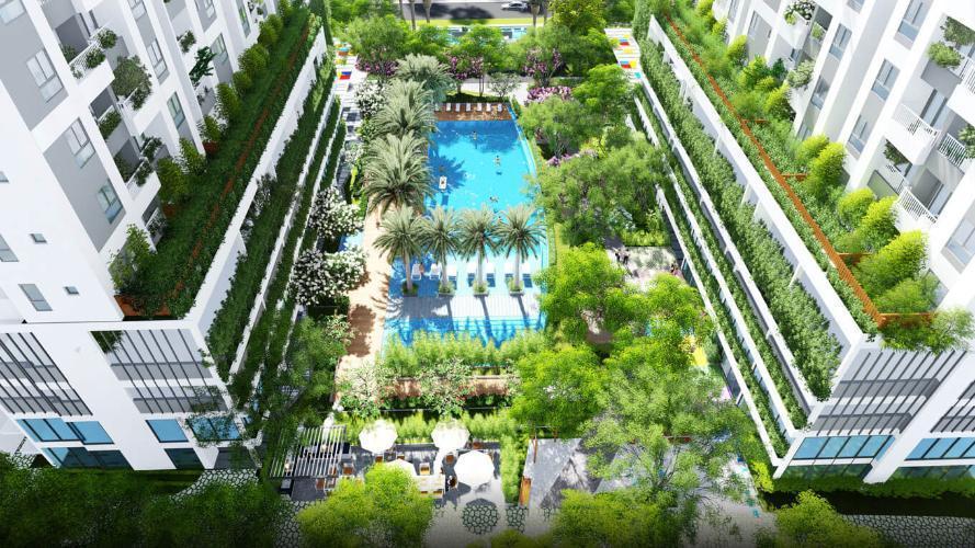 Căn hộ The Lux Garden Căn hộ Lux Garden tầng 5 view nội khu, bàn giao nội thất đầy đủ.