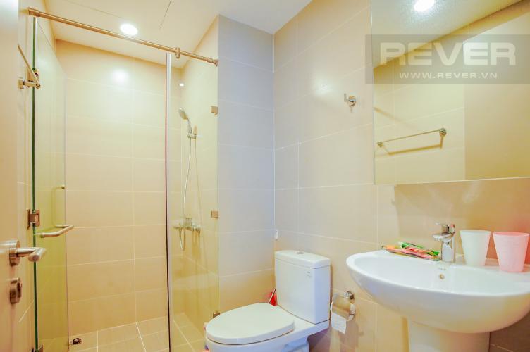 Phòng Tắm 1 Cho thuê căn hộ The Gold View 2PN, tháp B, nội thất cơ bản, view rạch Bến Nghé