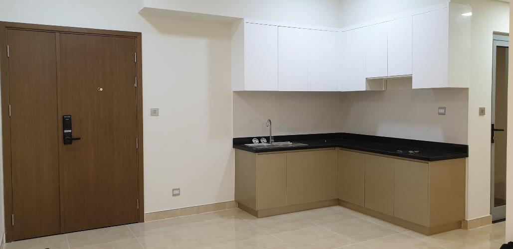 Phòng bếp căn hộ Lux Graden Bán căn hộ tầng cao Lux Garden nội thất cơ bản, tiện ích đa dạng.