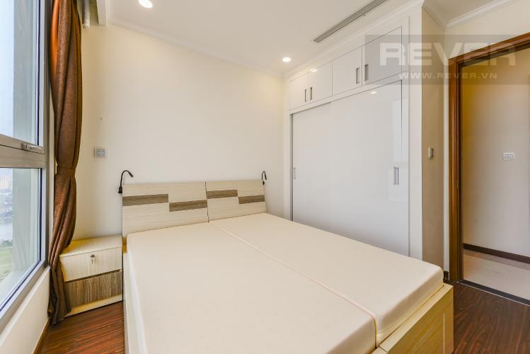 Phòng ngủ 2 Căn hộ Vinhomes Central Park 2 phòng ngủ tầng cao L6 hướng Đông Bắc