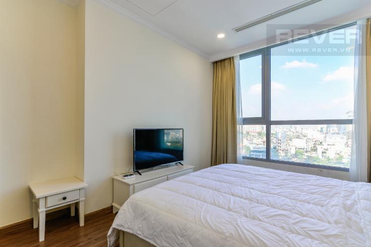 Phòng Ngủ 1 Căn hộ Vinhomes Central Park, tháp Landmark Plus, 2PN đầy đủ nội thất