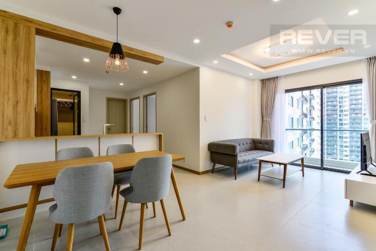 Tổng Quan Cho thuê căn hộ New City Thủ Thiêm tầng trung, 3PN đầy đủ nội thất, view hồ bơi