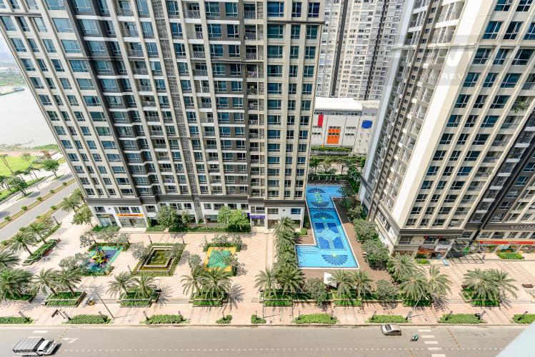 View Căn hộ Vinhomes Central Park 2 phòng ngủ tầng trung P1 view nội khu