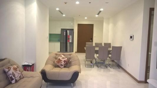Cho thuê căn hộ Vinhomes Central Park 2PN, tháp Landmark 1, diện tích 77m2, đầy đủ nội thất