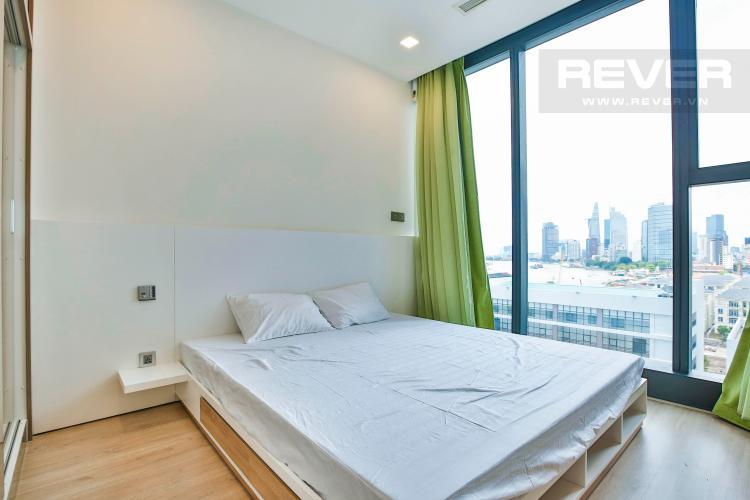 Phòng Ngủ 2 Căn hộ Vinhomes Golden River 2 phòng ngủ tầng thấp A3 hướng Tây Nam