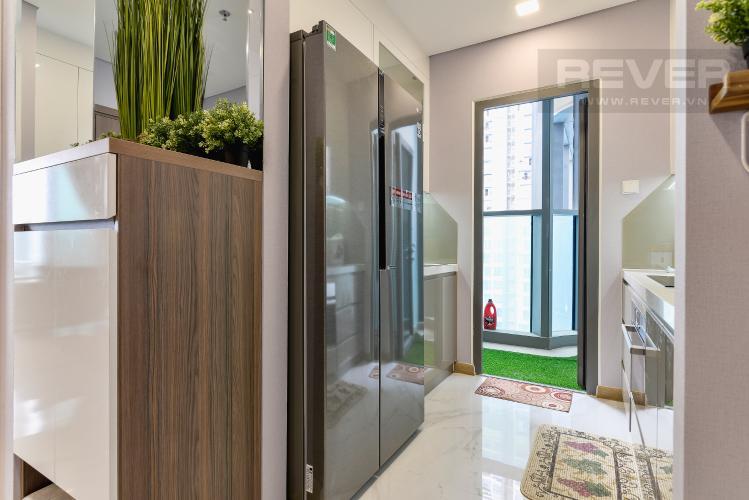 Nhà Bếp Cho thuê căn hộ Vinhomes Central Park tầng cao, 2PN với hệ thống nội thất tiện nghi, sang trọng