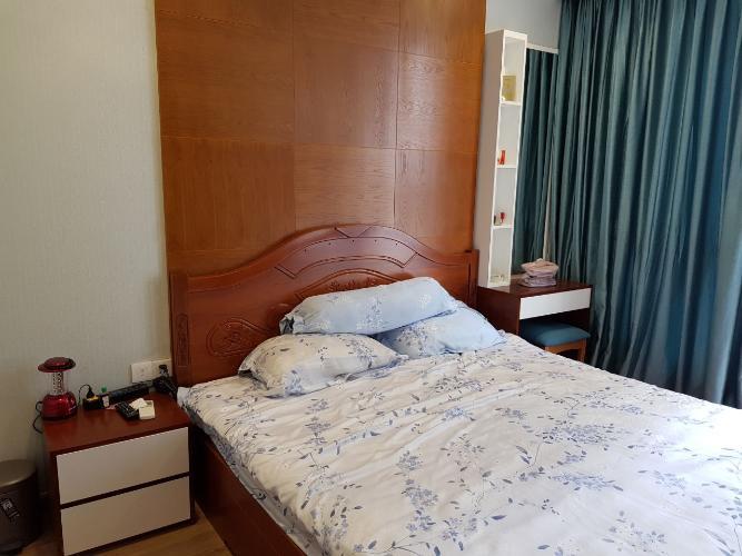 Phòng ngủ Vinhomes Central Park Căn hộ Vinhomes Central Park tầng trung, hướng nội khu thoáng mát.