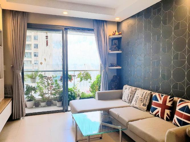 Bán căn hộ The Gold View 2PN, tầng trung, đầy đủ nội thất, hướng Tây Nam