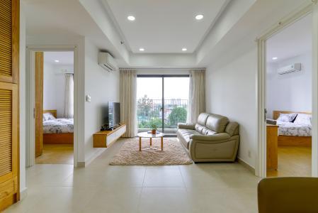Bán căn hộ Masteri Thảo Điền 2PN, tháp T3, đầy đủ nội thất, view cây xanh mát mẻ