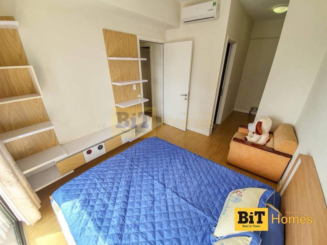 PHÒNG NGỦ Cho thuê căn hộ Masteri Thảo Điền 2PN, tháp T4, diện tích 65m2, đầy đủ nội thất