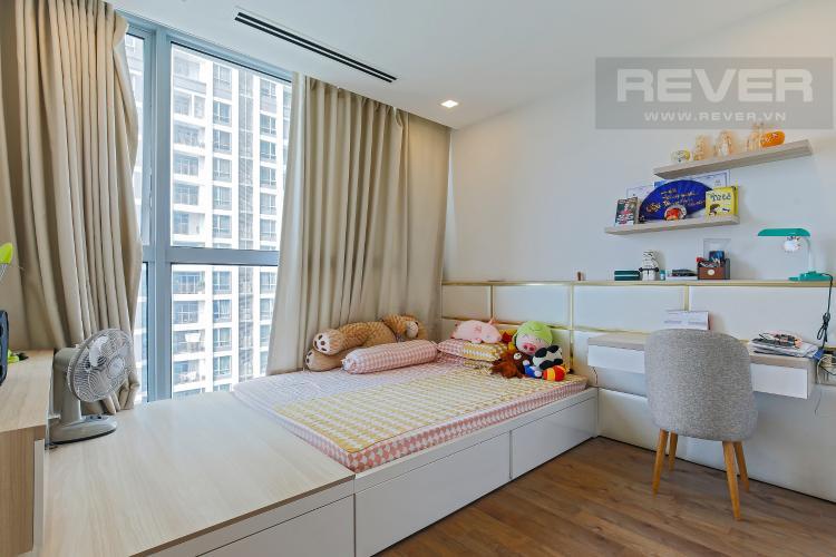 Phòng Ngủ 1 Bán căn hộ Vinhomes Central Park tầng trung tháp Park 1, 4PN 3WC, đầy đủ nội thất, view sông Sài Gòn