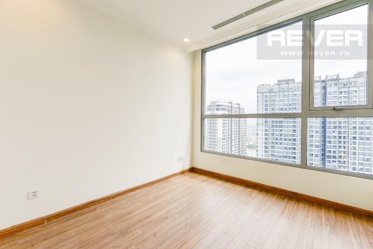 Phòng ngủ 1 Căn hộ Vinhomes Central Park 2 phòng ngủ tầng cao C3 nhà trống