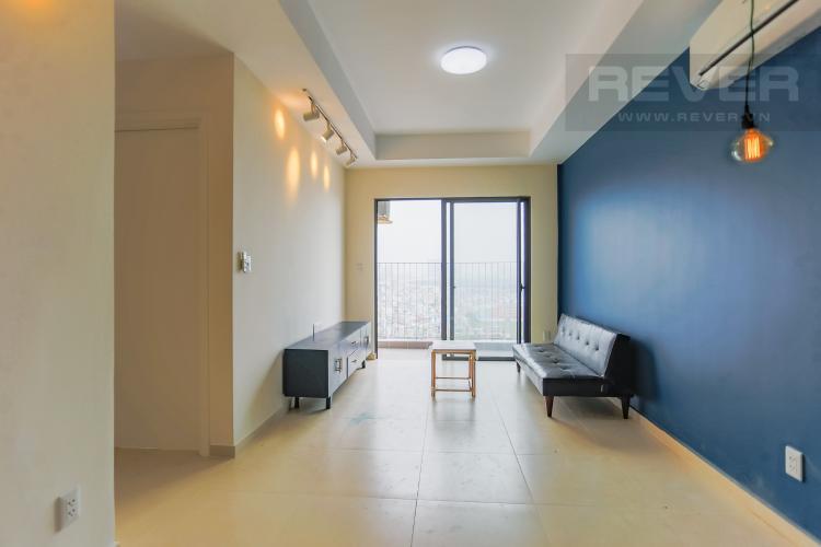 Phòng Khách Căn hộ M-One Nam Sài Gòn 2 phòng ngủ tầng cao T1 nội thất đầy đủ