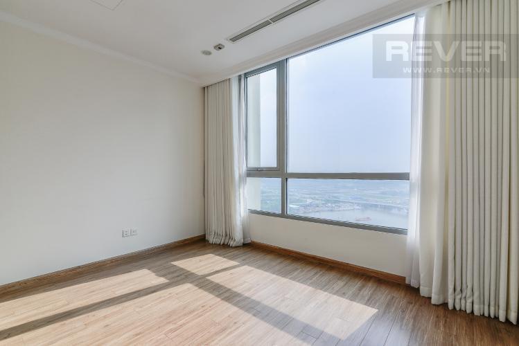 Phòng Ngủ 1 Căn hộ Vinhomes Central Park 2 phòng ngủ tầng cao C1 view sông