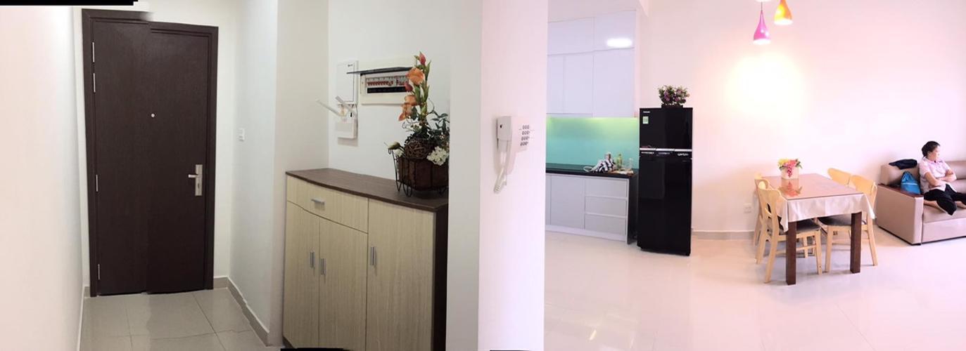 Cho thuê căn hộ The Sun Avenue tầng thấp, block 2, diện tích 75m2 - 2 phòng ngủ, đầy đủ nội thất