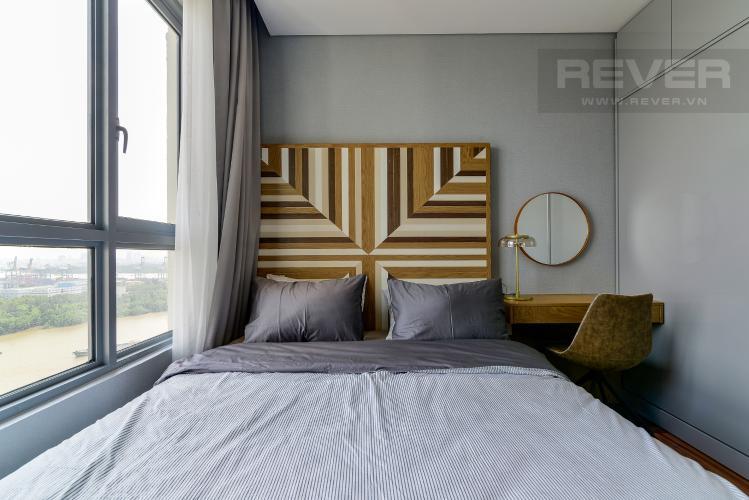 Phòng Ngủ 1 Cho thuê căn hộ Diamond Island - Đảo Kim Cương 3PN, tầng cao, đầy đủ nội thất, view sông yên tĩnh