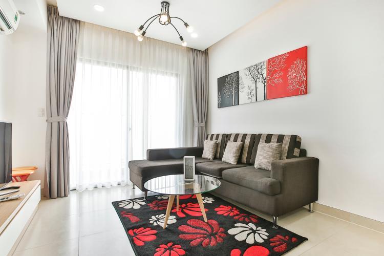Căn hộ Masteri Thảo Điền 3 phòng ngủ tầng cao T2 nội thất đầy đủ
