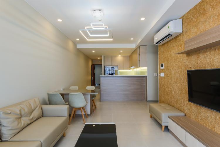 Căn hộ The Gold View 2 phòng ngủ tầng cao tháp B nội thất hiện đại
