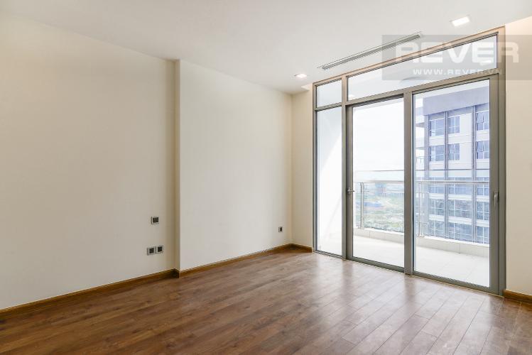 Phòng ngủ 1 Căn hộ Vinhomes Central Park tầng cao P2, 3 phòng ngủ, view sông