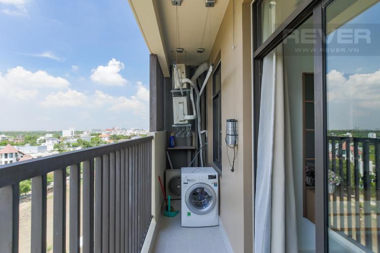 Balcony Cho thuê căn hộ Jamila Khang Điền 2PN, block C, đầy đủ nội thất, view khu dân cư xanh mát