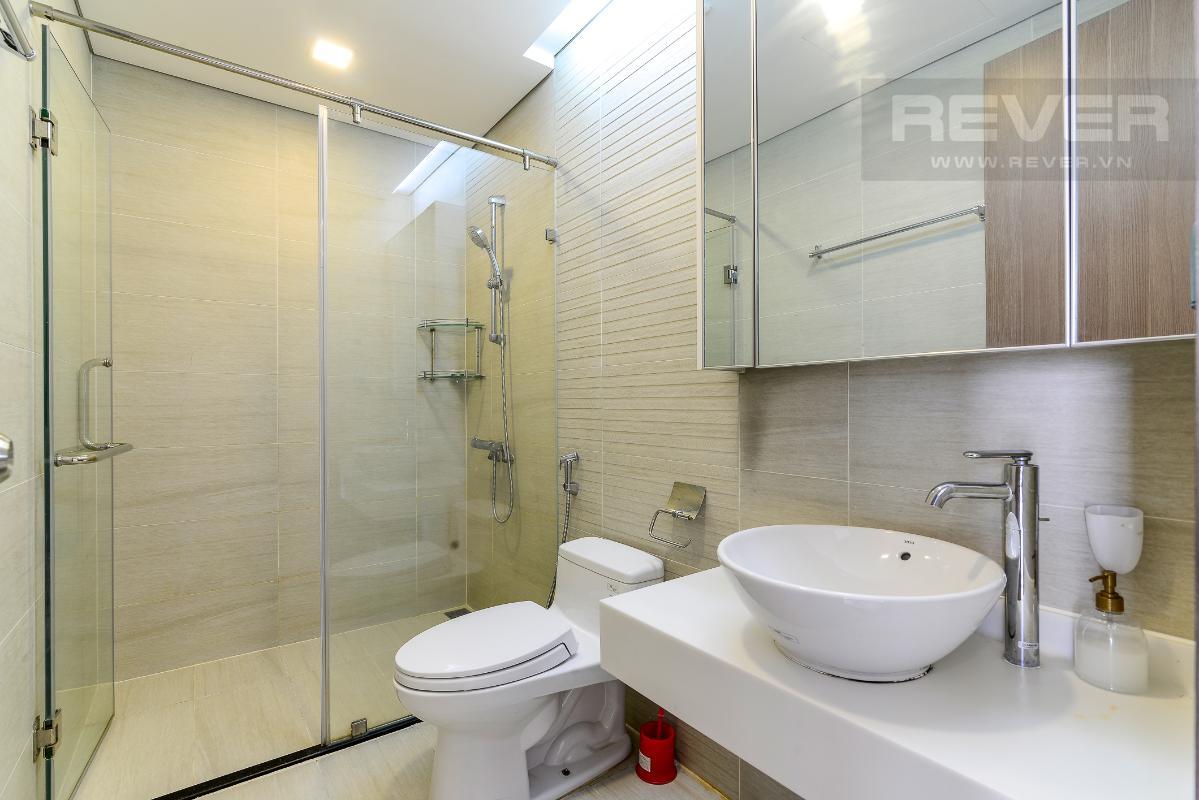 _DSC3964 Bán căn hộ Vinhomes Central Park 1PN, tháp Park 7, đầy đủ nội thất, view hồ bơi và mé sông