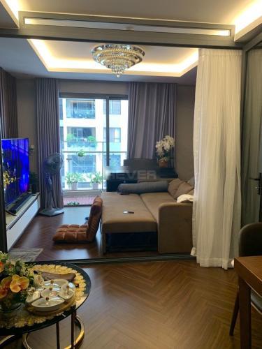 Căn hộ The Gold View tầng 19 view nội khu yên tĩnh, đầy đủ nội thất.