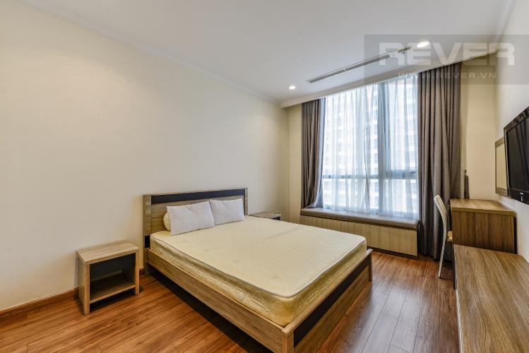 Phòng ngủ 3 Căn hộ Vinhomes Central Park tầng trung, 3 phòng ngủ, hướng Đông Bắc, view sông