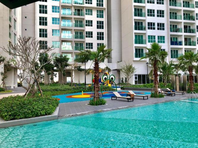 Hồ bơi Sadora Apartment, Quận 2 Căn hộ tầng trung Sadora Apartment view nội khu thoáng mát.