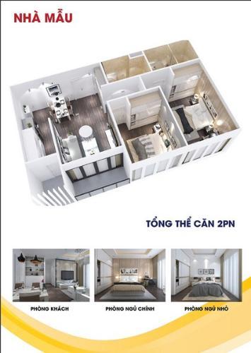 Căn hộ City Gate 3 nội thất cơ bản, view thành phố.