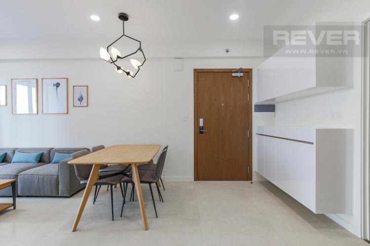 Bàn Ăn Căn hộ Masteri Millennium tầng cao block B, 2PN, nội thất đầy đủ, view kênh