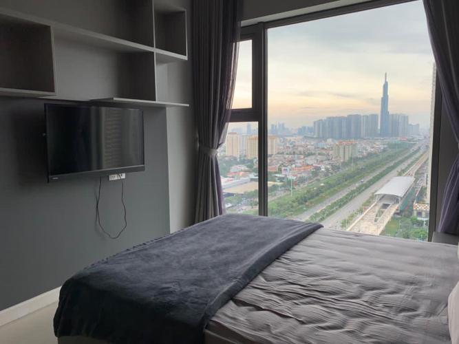 Phòng ngủ căn hộ Gateway Thảo Điền Căn hộ Gateway Thảo Điền tầng cao, view thành phố thoáng mát.