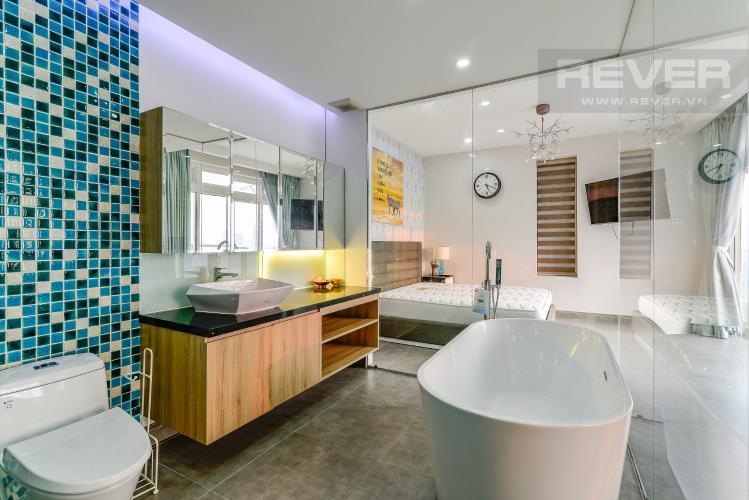 Phòng Tắm 2 Penthouse Saigon Pearl tháp Sapphire diện tích 221m2 full nội thất